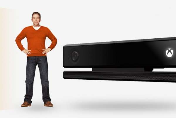 Kinect user height cover
