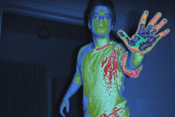 Kinect 2 infrared stream