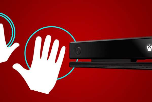 Kinect v2 hand tracking