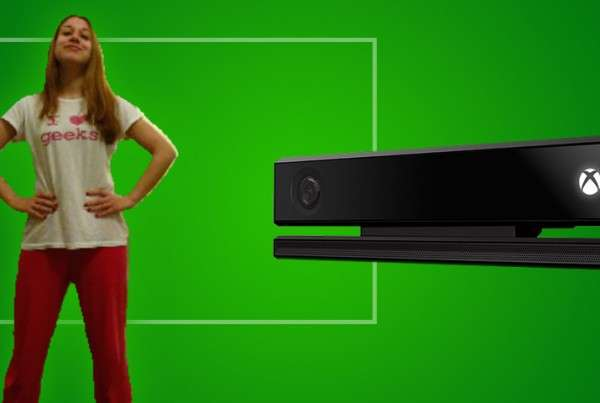 Kinect Green Screen (Background Removal)