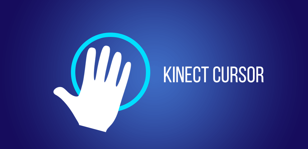 Kinect cursor for hand tracking