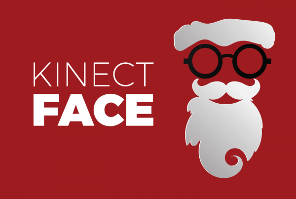 Kinect v2 Face Basics Santa Clause