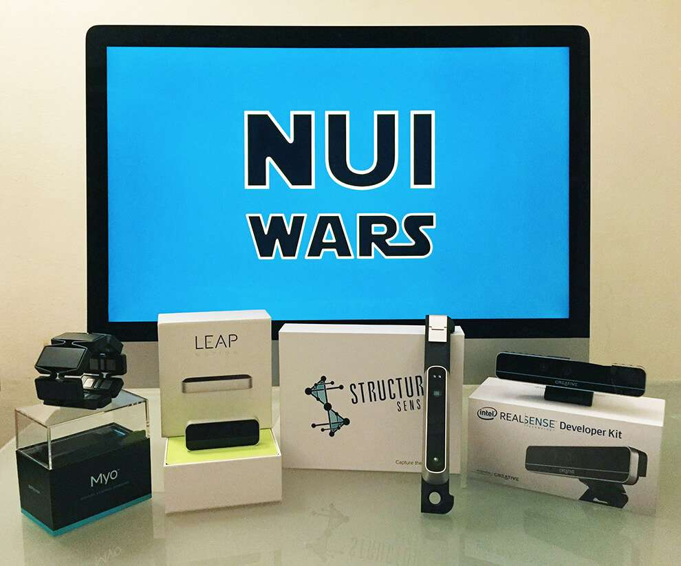 NUI Wars Office | Kinect, Leap Motion, Structure, RealSense, Myo