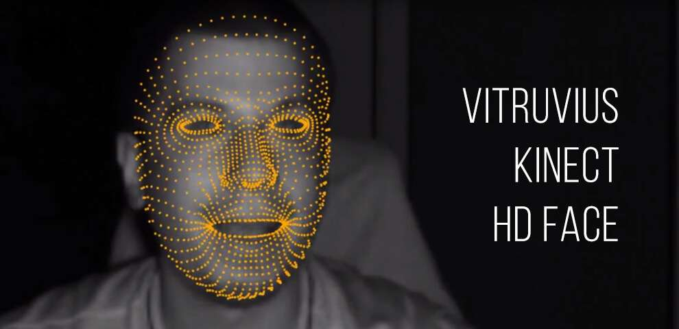 Vitruvius Kinect HD Face