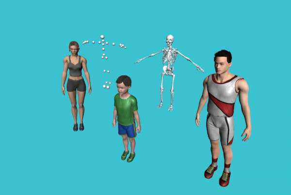 Vitruvius Kinect Models Bodies