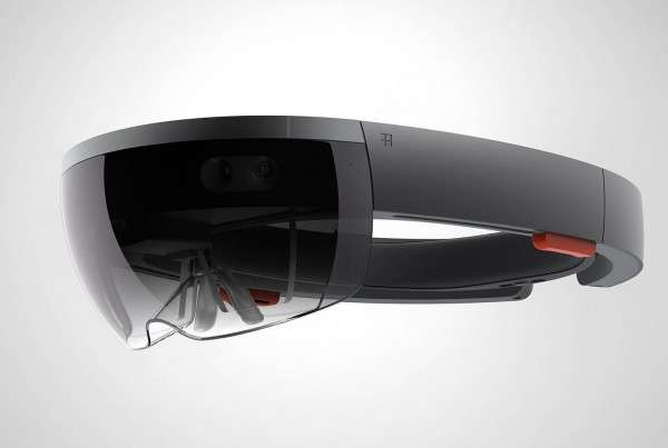 Hololens Headset (Side)