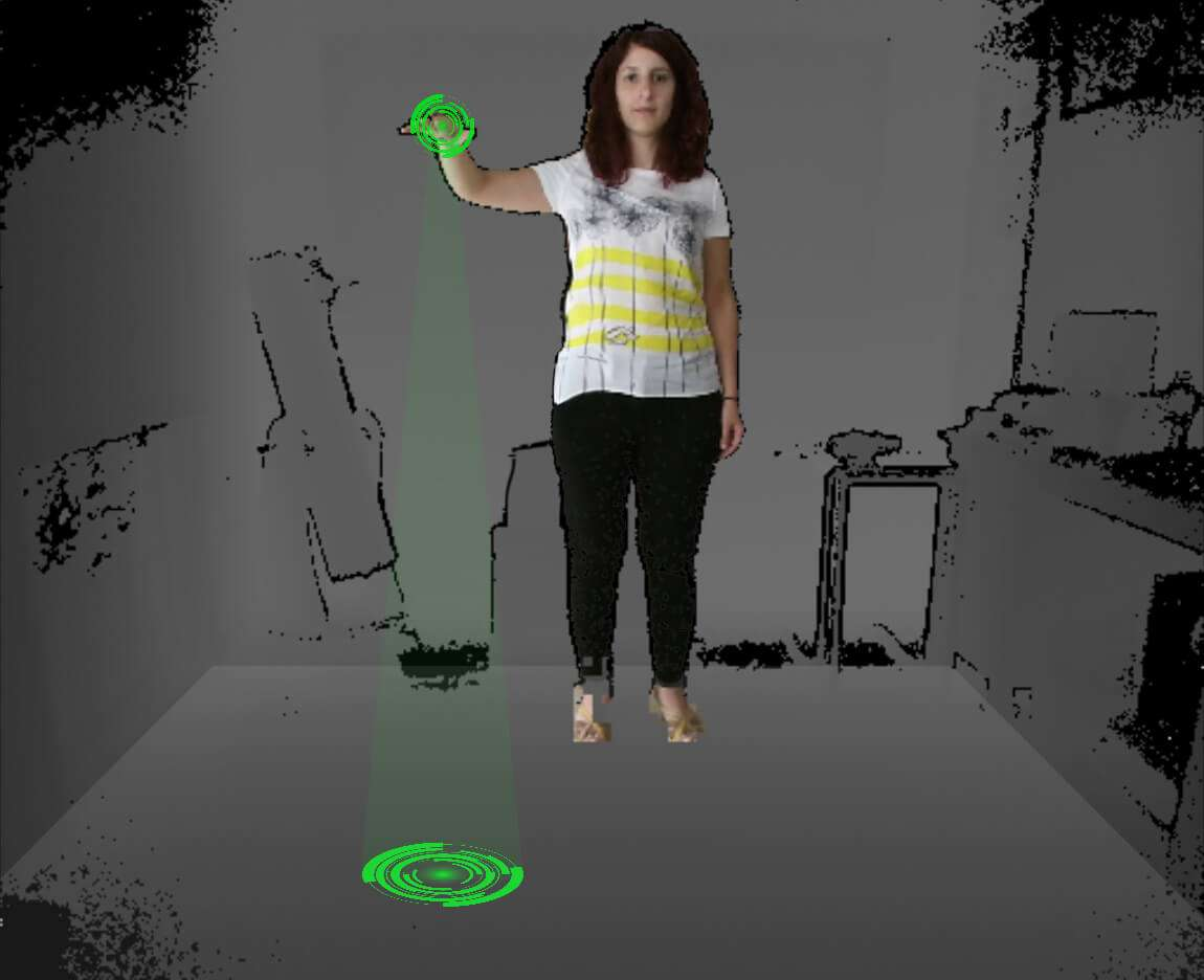Kinect floor detection demo