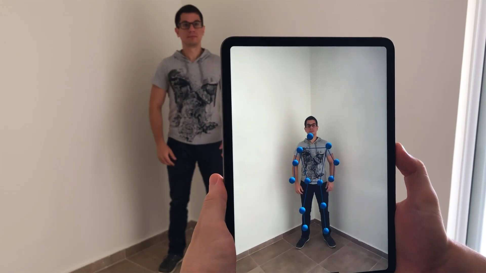 Body Tracking with ARKit on iOS (iPhone/iPad)